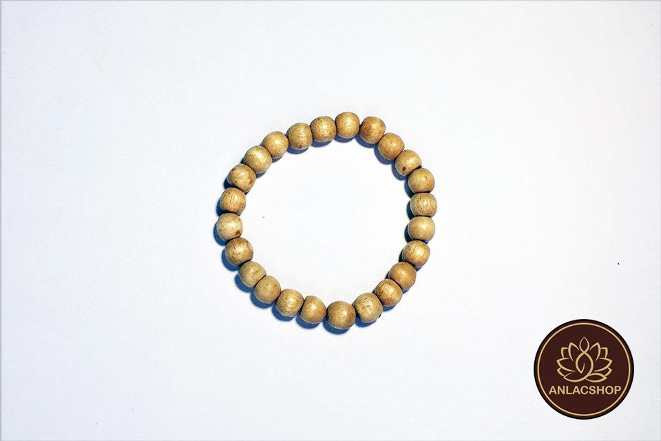 Vòng đeo tay chuỗi hạt dâu tầm cho bé 00