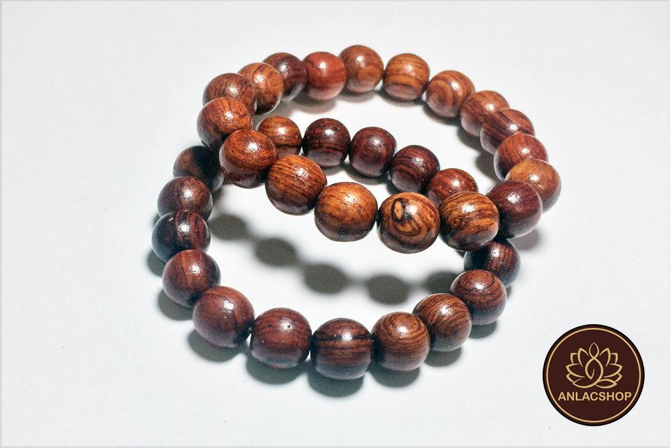 Vòng chuỗi hạt đeo tay gỗ Cẩm Lai Cao Cấp cho Nữ 02