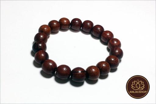 Vòng chuỗi hạt đeo tay gỗ Cẩm Lai Cao Cấp cho Nữ