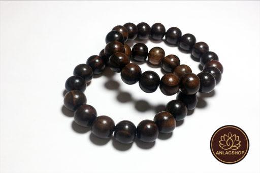 Vòng chuỗi hạt đeo tay gỗ Mun Cao Cấp cho Nữ 01