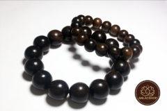 Vòng chuỗi hạt đeo tay gỗ Mun Cao Cấp cho Nữ 02