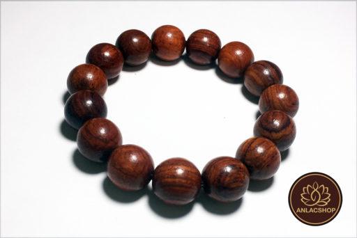 Vòng chuỗi hạt đeo tay gỗ Cẩm Lai Cao Cấp cho Nam 01