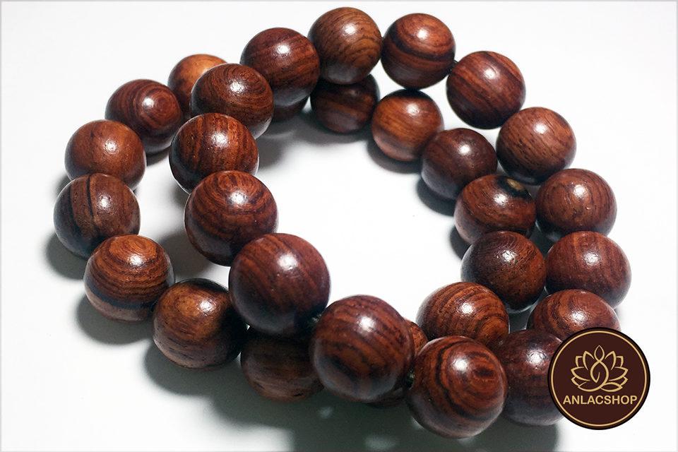 Vòng chuỗi hạt đeo tay gỗ Cẩm Lai Cao Cấp cho Nam 02