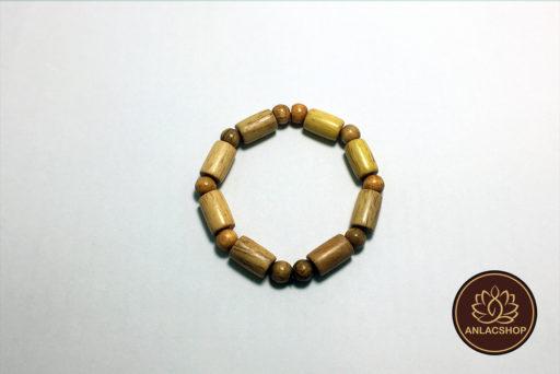 Vòng gỗ Trắc hạt Trúc 04