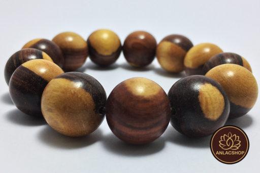 Vòng tay gỗ Trắc hạt lớn 16 li 08