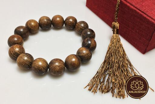 Vòng tay gỗ dâu rừng quý hiếm cho nam 09